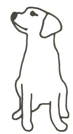 Ausmalbild Hund Hundebild Zum Ausmalen
