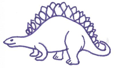 Dinosaurier Malvorlage Kostenlose Dino Vorlage