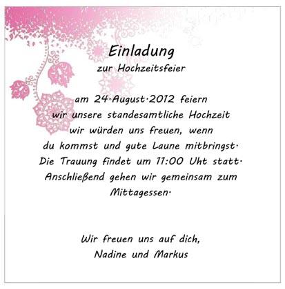 Weitere Hochzeitseinladungen Vorlagen Karten