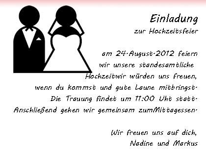 Pin Mustertext Hochzeitseinladung Hochzeitseinladungen on Pinterest