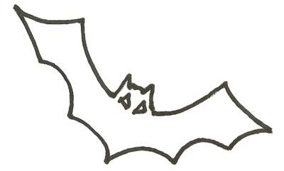 Fledermaus Malvorlage Ausmalbild Fledermaus