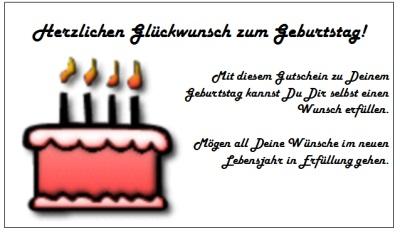 Gutschein Zum Geburtstag Text Freundin Geburtstagsgluckwunsche