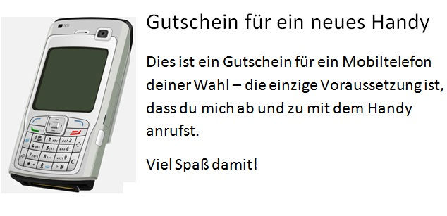 GUTSCHEIN HANDY AMAZON