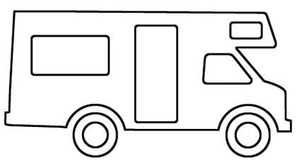 Malvorlage Wohnmobil