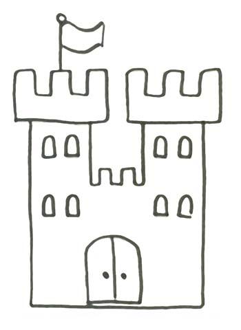 Malvorlage Schloss Einer K Nigin Zum Ausdrucken