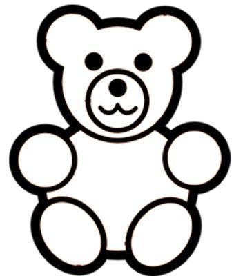 Teddy Malvorlage Ausmalbild Teddyb R