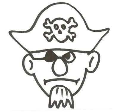 Pirat Malvorlage