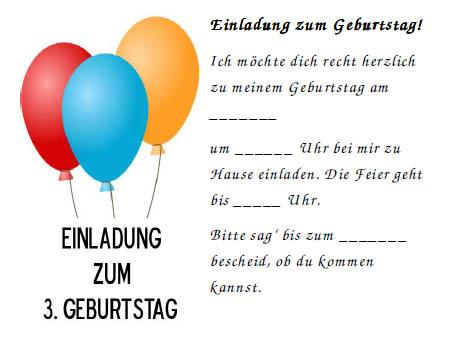 einladungskarten kindergeburtstag vorlagen | katrinakaif, Einladungsentwurf