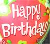 Happy Birthday zum 40. Geburtstag Bild und Karte