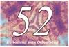 52. Geburtstag Einladungskarte zum Ausdrucken