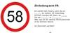 Einladungskarte zum 58. Gebutstag Vorlage zum Drucken
