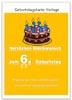 Karte zum 6. Geburtstag mit Geburtstagstorte zum Ausdrucken