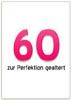 60. Geburtstag Karte mit Spruch als Word Vorlage