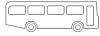 Bus Malvorlage - Ausmalbild Bus zum Ausdrucken