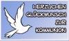 Glückwunschkarte zur Kommunion zum Ausdrucken