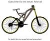 Gutschein f�r ein neues Fahrrad - Fahrradgutschein Vorlage