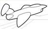 Jet Düsenjet Malvorlage - Flugzeug Ausmalbild