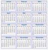 2013 Kalender eine Seite zum Ausdrucken als Vorlage