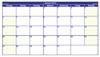 Kalender 2013 Querformat - gratis Kalendervorlage
