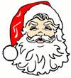 Kostenlose Nikolaus Grußkarten zum Ausdrucken