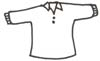 Malvorlage Pullover - Pulli, Shirt Ausmalbild