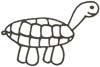 Schildkröte Malvorlage - gratis Ausmalbilder