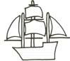 Segelschiff Malvorlage - Schiff zum Ausmalen