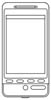 Smartphone Malvorlage - Business Telefon Ausmalbild