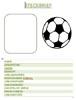 Steckbrief Vorlage zum Thema Fußball