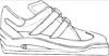Turnschuhe Malvorlage - Ausmalbild Sneaker