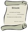 Vorlagen f�r Urkunde zum selber drucken