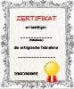 Zertifikat zur Teilname Vorlage - kostenloser Vordruck
