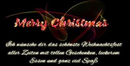 Merry Christmas in der Nacht