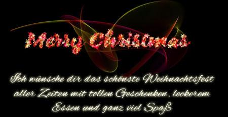 Merry Christmas in der Nacht