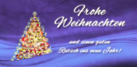 Besinnliche Weihnachtsgrüße als Bild mit Spruch
