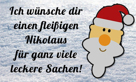 Lustige Grüße zum Nikolaus
