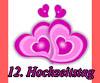 Glückwünsche zum 12. Hochzeitstag