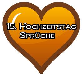 15 Hochzeitstag Spruche Gluckwunsche
