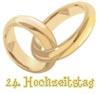 Satinhochzeit 24. Hochzeitstag