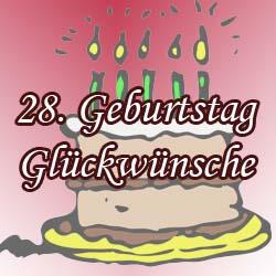 Alles Gute Zum Geburtstag Zahl 28 Grusskarte Fur 28 Jahre In Der