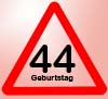 44 Geburtstag Spr�che