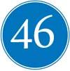 Glückwünsche zum 46ten