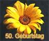 Wünsche zum 50. Geburtstag