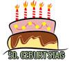 Kurze Geburtstagsglückwünsche zum 50igsten