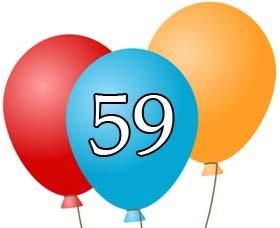 59 geburtstag