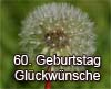 Gratulation zum 60ten