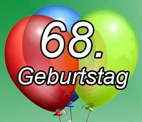 68. Geburtstag Sprüche