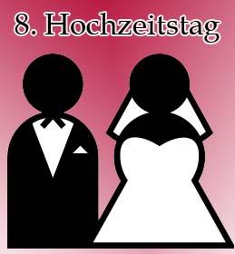 8. Hochzeitstag
