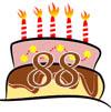 Glückwünsche zum 88. Geburtstag