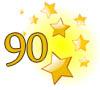 Gratulation zum 90igsten